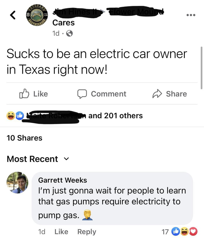 Suck it Tesla owners!