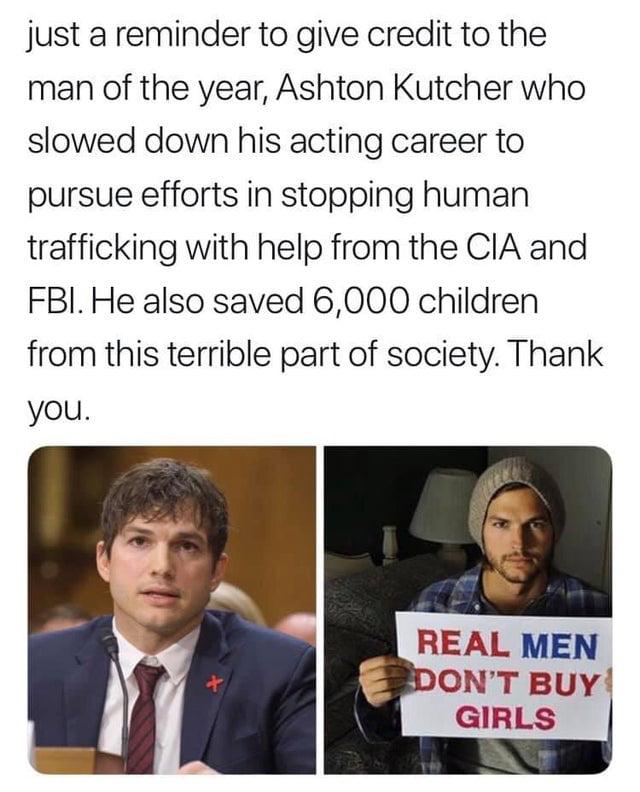 Real men don 't buy Girls