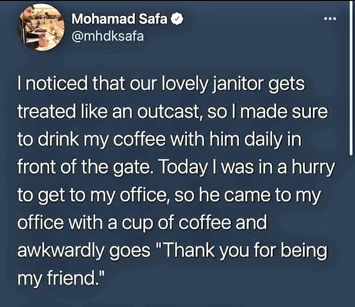 This is amazing! Kindness works two ways!