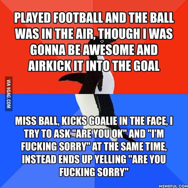 Goalie was choking back tears