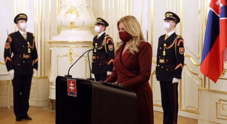 President Of Slovakia Addressing The Annual Mortal Combat