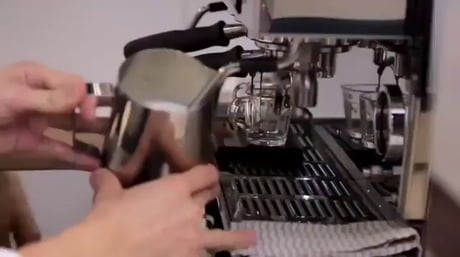 Image topped coffee maker