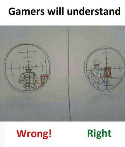 Gamers will understsnd