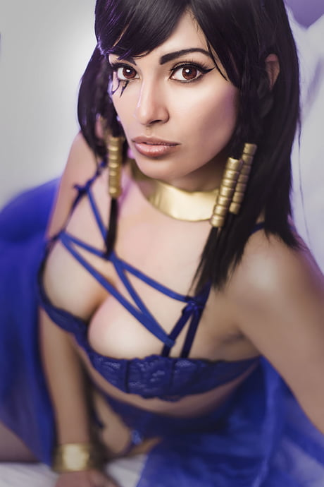 Meevers Desu as Underwatch Pharah (photo:Elysiam)