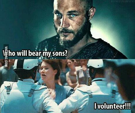 I Volunteer As Tribute 9gag And so, in the immortal words of katniss everdeen, i volunteer as tribute. 9gag