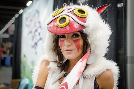 Jessica Nigri As San Princess Mononoke 9gag