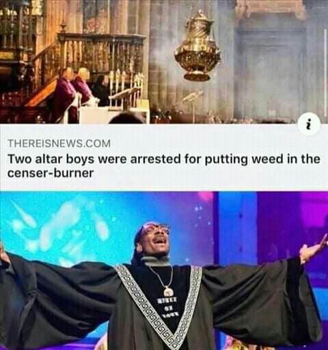 Pray Weed Everyday.