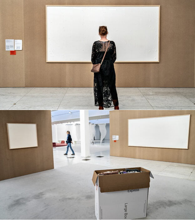 A Danish museum lent an artist $84,000 for his work. He kept the cash and named the art 'Take the Money and Run.'