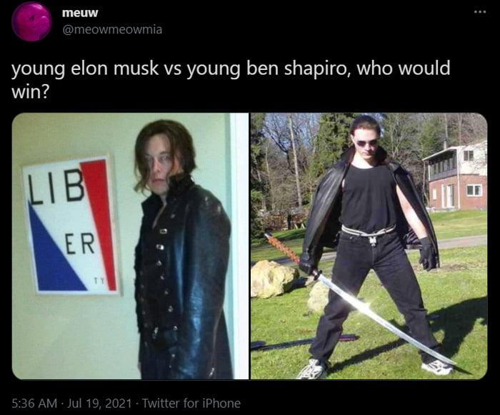 Elon vs Ben