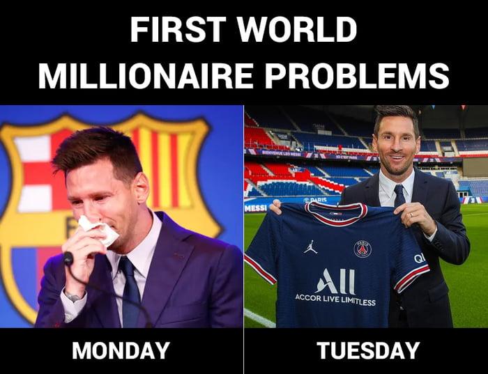 First World Millionaire Problems