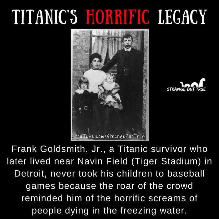 Titanic horrors