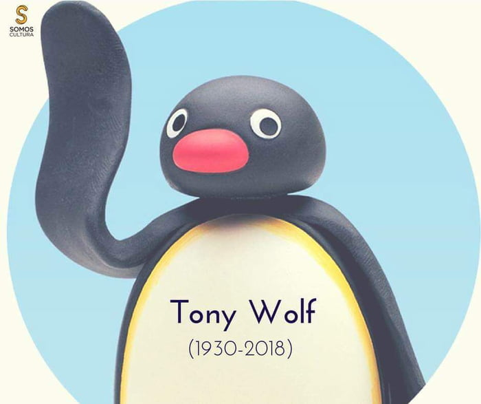 The creator of Pingu, Tony Wolf has passed away at 88 years of age. Thank you for bringing such joy into our lives Tony, RIP