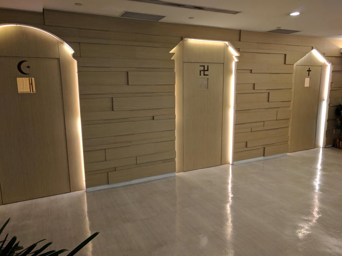 Prayer rooms in Taipei Taoyuan Airport