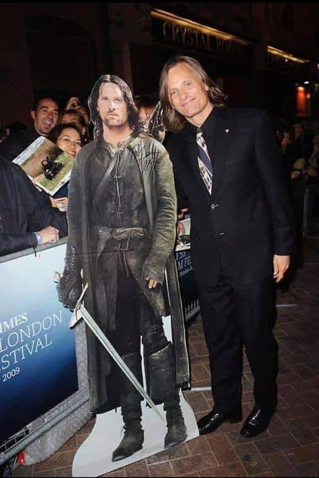 Did you know that he speaks 6 languages fluently? Did you know he was the only one that didn't need sword training on the set! One of the most epic actors and a great guy Viggo Mortensen