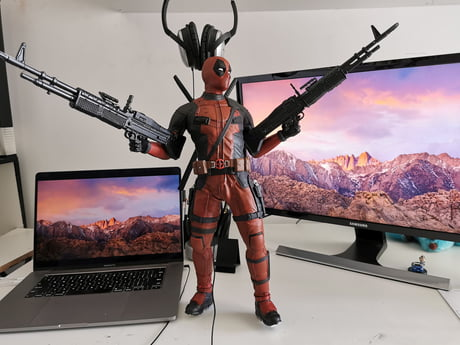 3d Printed Deadpool 9gag