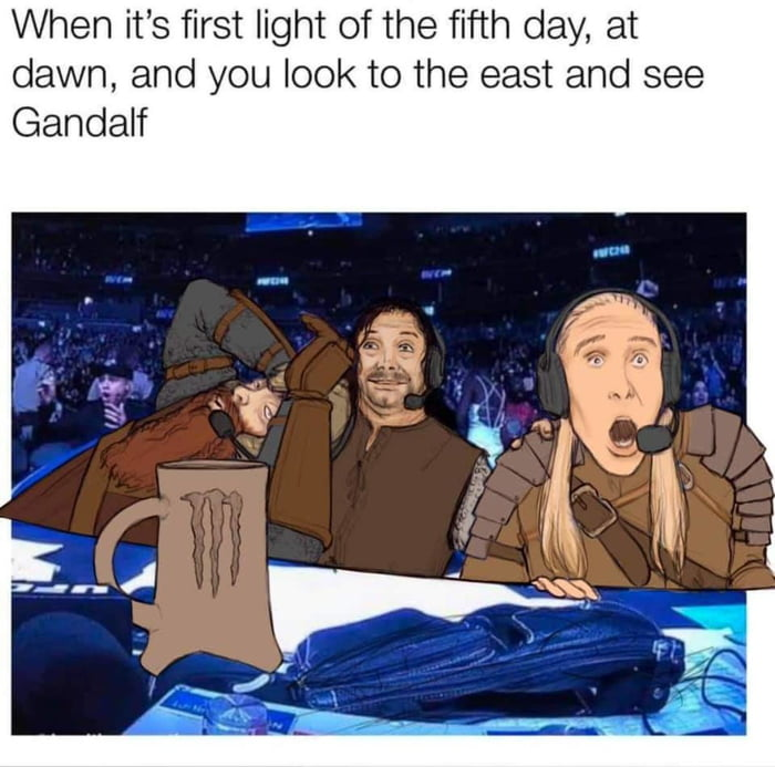 You don't know how glorious it was.