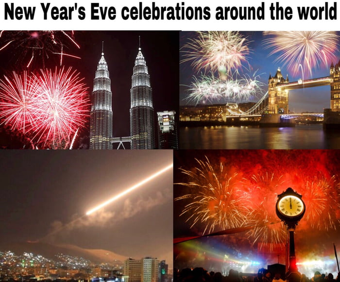 New Year's Eve celebrations