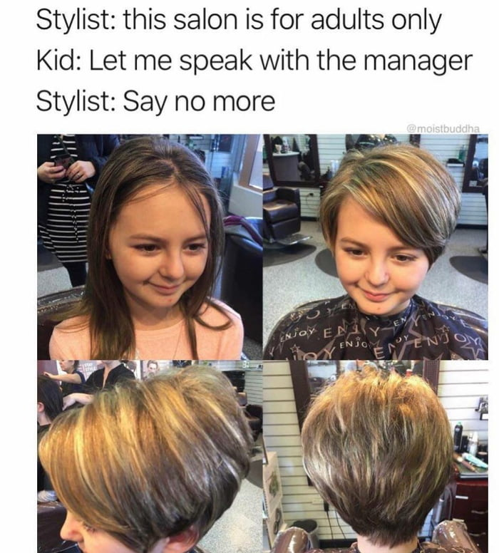 Let me speak to the manager!