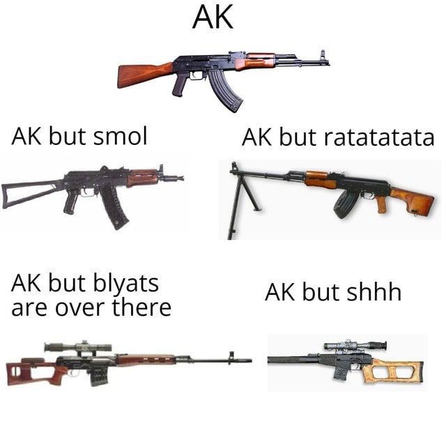 Ah yes, AK