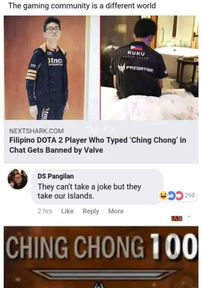 He has a point you know. Fck China!