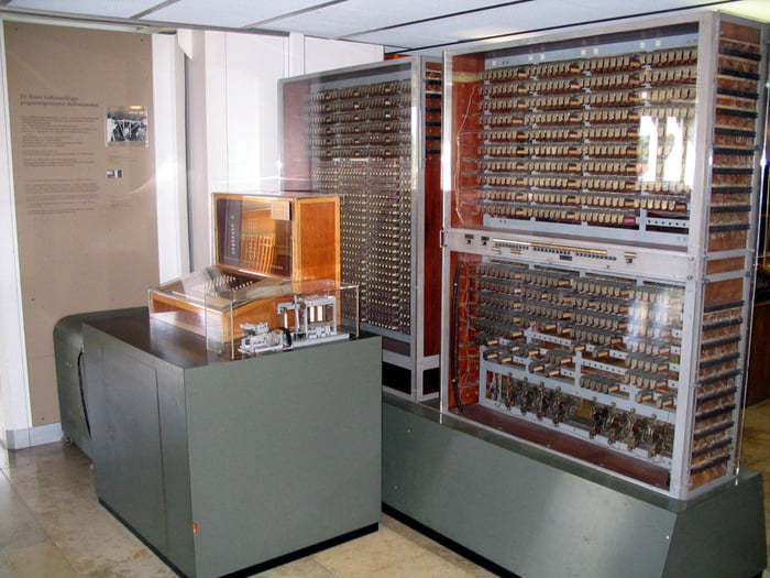 Today, 80 years ago in 1941, German scientist Konrad Zuse presented the world's first programmable computer to an audience in Berlin. Following the war, in 1946, IBM received the patents.