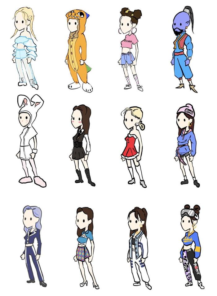 Photo : Dahyun outfits