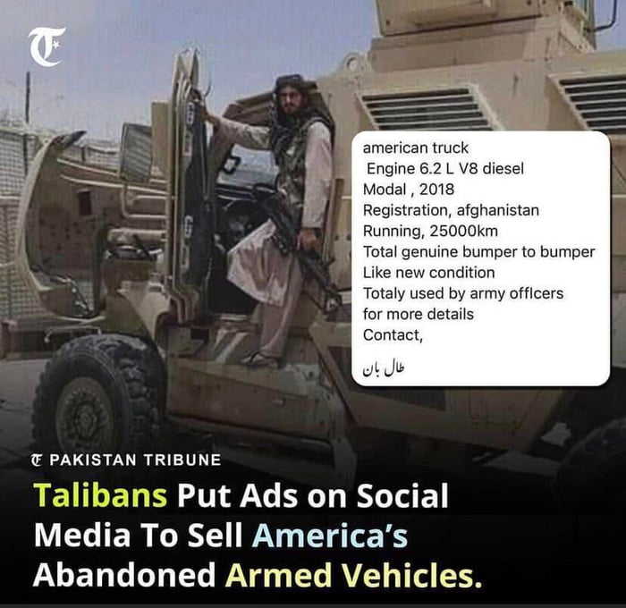 Talibans be trolling
