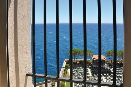 View from a cell of Monaco prison (thats could be worst) - 9GAG