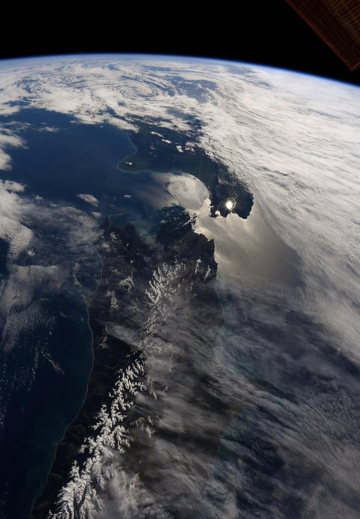 New Zealand from Space today