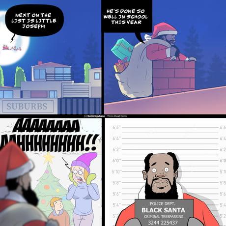 Black Santa ...