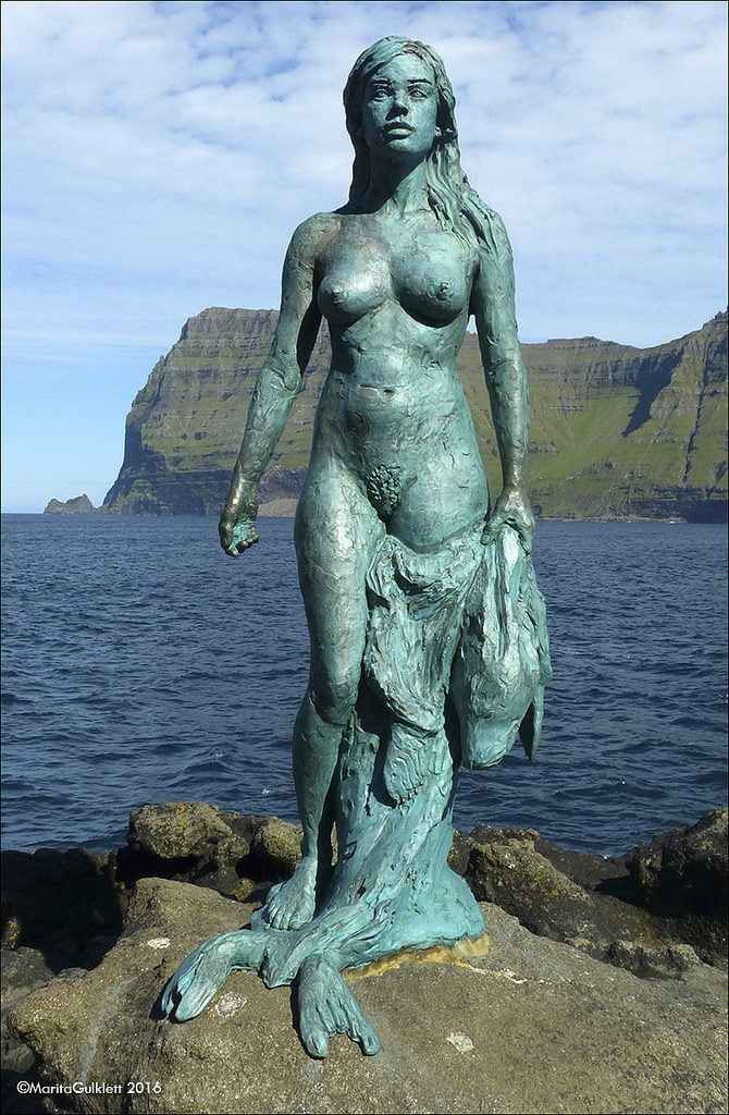 Kópakonan - A mulher das focas, conto folclórico das Ilhas Faroé
