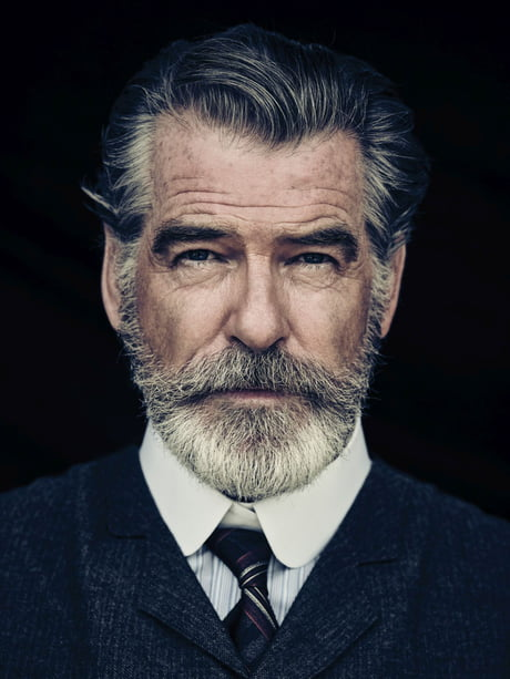 Pierce Brosnan is starting to look like he could play a Bond villain.
