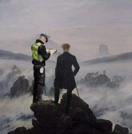 Best 30 Wanderer Above The Sea Of Fog Fun On 9gag