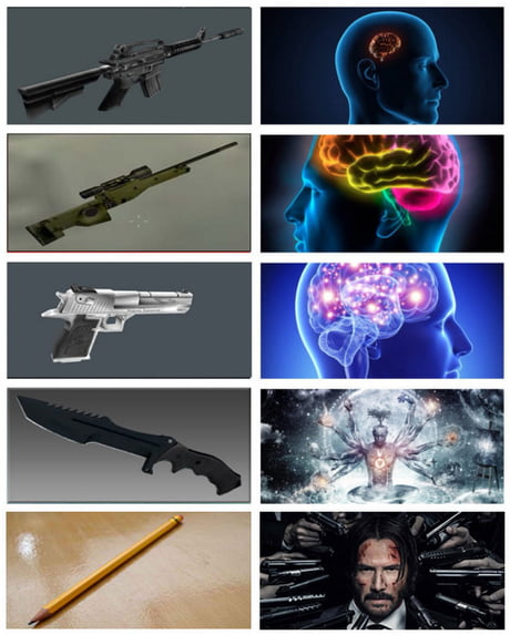Killing With A Pencil A F Ing Pencil John Wick 9gag
