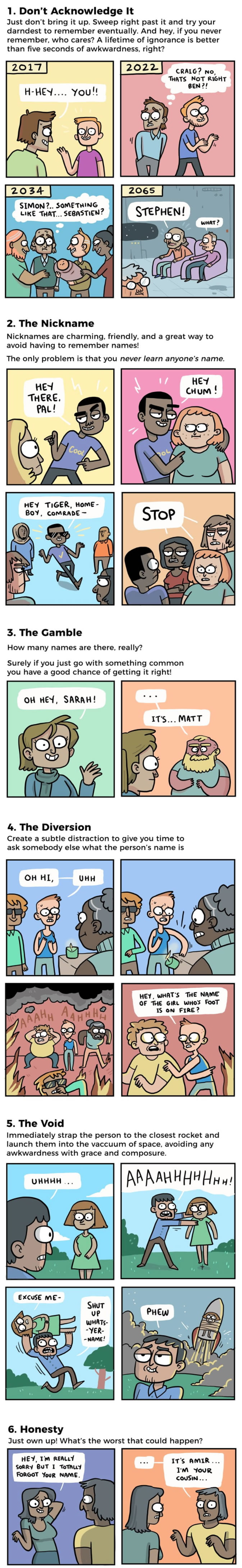 6 Awesome Ways For Those Who Keep Forgetting Someone's Name