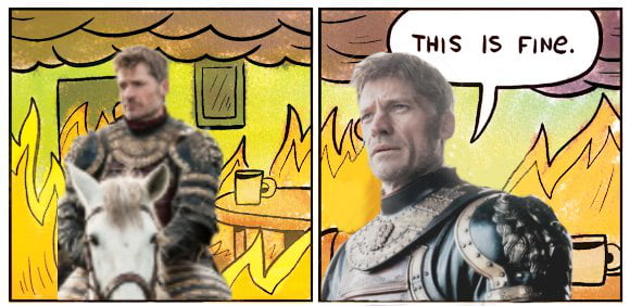 Jaime be like...