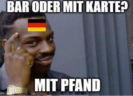 Recycling in Germany meme