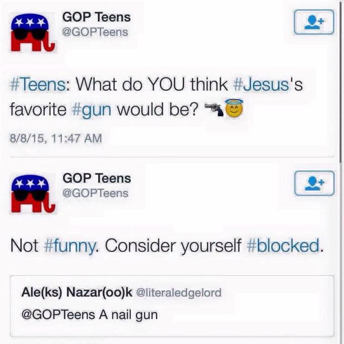 A nail gun