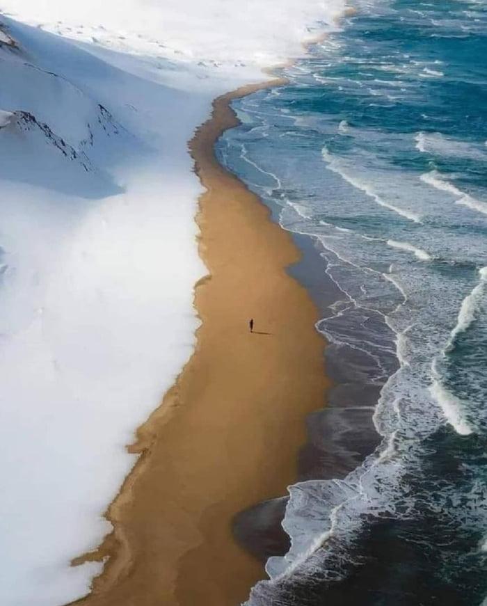 Hokkaido, Japan Snow, Sea, Dessert