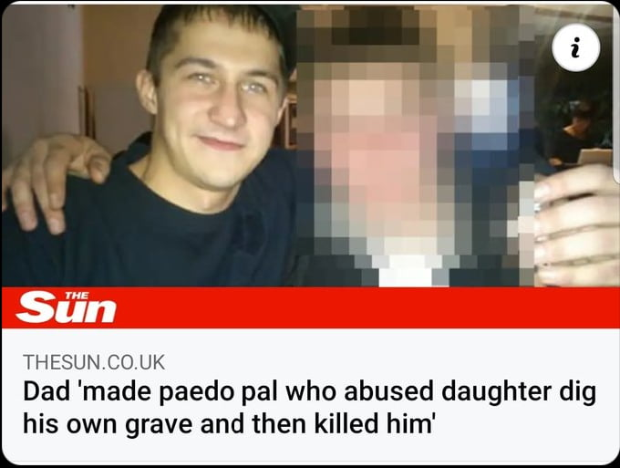 This man literally made another dude dig his own grave