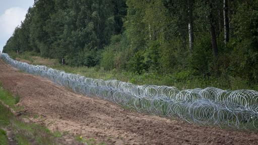 Poland wants to erect a 2.50-meter-high fence on the border with its eastern neighbor because of migrants entering the country illegally via Belarus. Currently, 900 soldiers are deployed along the 418-kilometer border with Belarus.