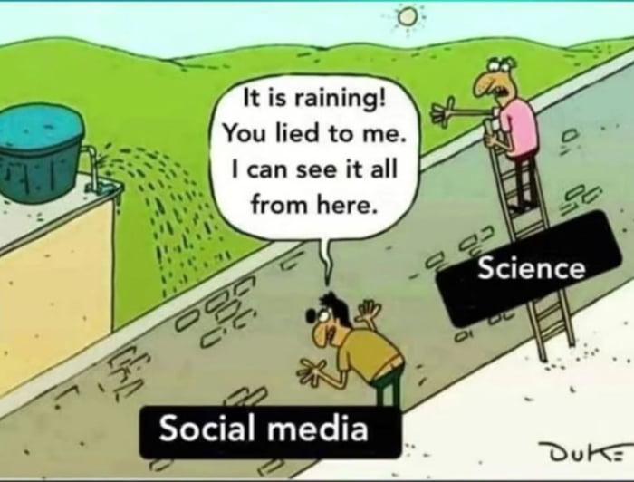 Science VS Social Media