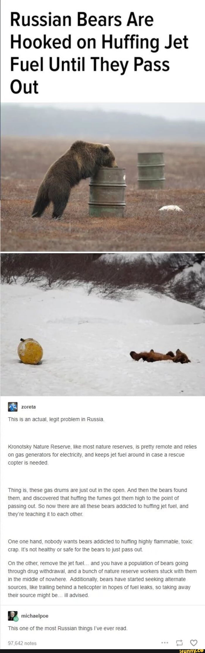 A real Russian problem