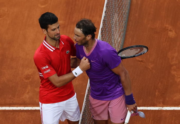 """""""Due to the exceptional nature of the match"""" between Nadal and Djokovic, French authorities just agreed to break their own curfew and allow fans to stay at Roland Garros to watch thru the end."""""""