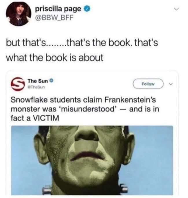 What's Frankenstein about
