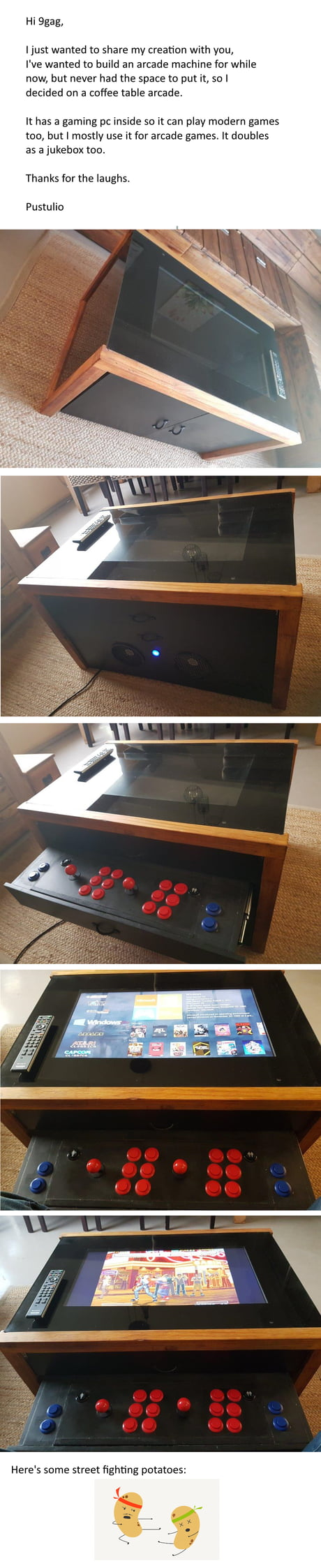 View Diy Video Game Coffee Table Pics