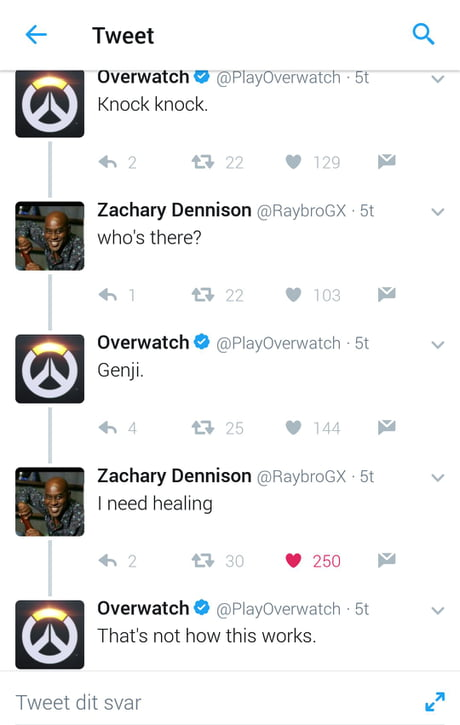 A guy on Twitter just trolled a Blizzard Employee