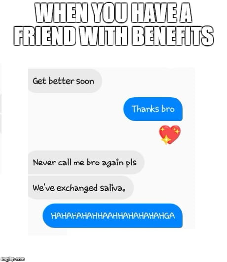 With benefits friends texting 5 Flirty