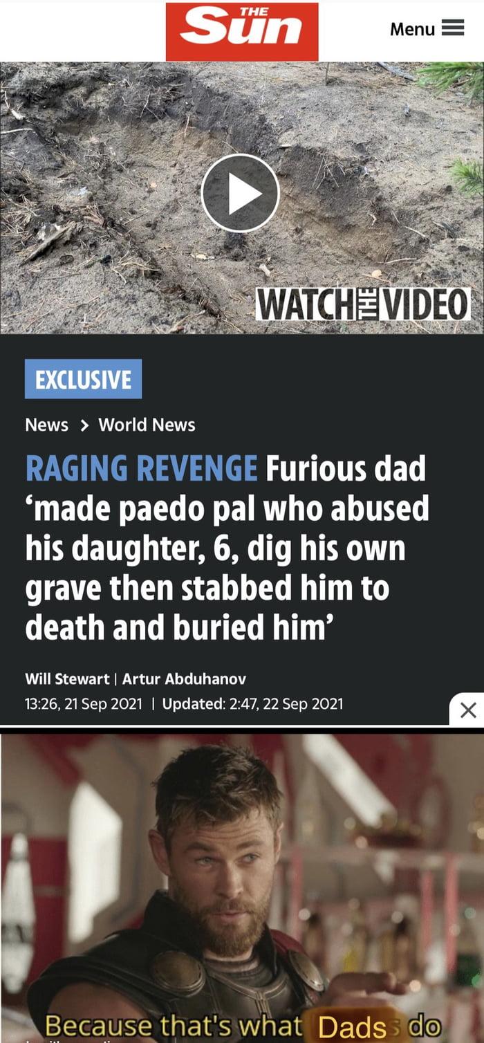 Dad revenge