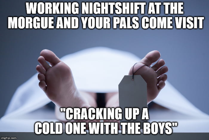 Having fun at your job...